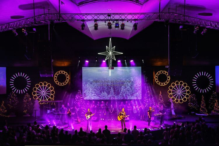 City Hill Church Christmas Stage Design 2019