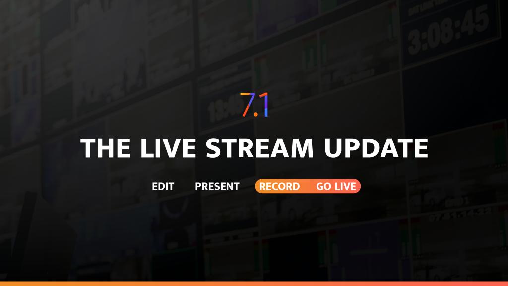 Edit Present Record Go Live