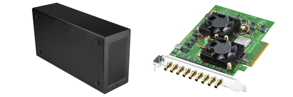DeckLink Quad 2 and Startech Thunderbolt 3 PCIe Chassis Bundle