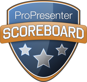 ProPresenter Scoreboard - LED wall software