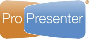 ProPresenter Presentation and Worship Software for display of lyrics, graphics, and video