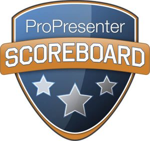 ProPresenter Scoreboard software for sports