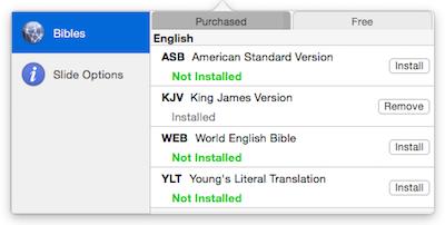Pro Bible Installer