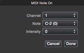 Pro Send Midi DMX