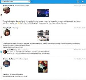 Pro Twitter in Interface