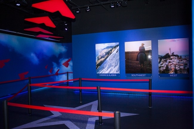 PVP media server and screen mapping software installed at Flyover America in Mall of America
