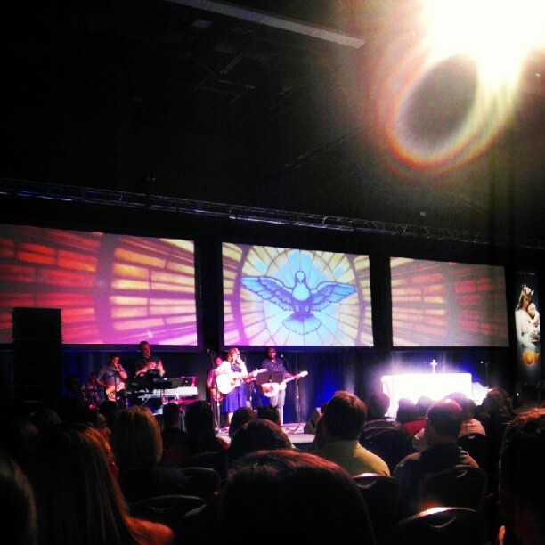 Triplewide Display at Life Teen Training Convention