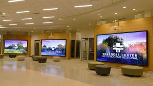 PVP media server and screen control software installation at Thibodaux Regional Medical Center
