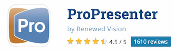ProPresenter Best Software Reviews
