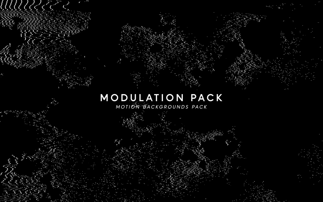 Modulated Pixels Motion Pack