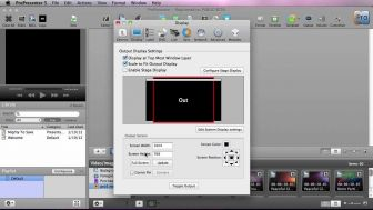 ProPresenter 5 - Basic Set Up