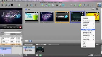 ProPresenter 5 - Pre-Show Announcement Loops
