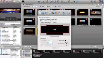 ProPresenter 4 Edge Blending Module