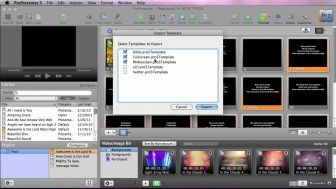 ProPresenter 5 Importing and Exporting Templates